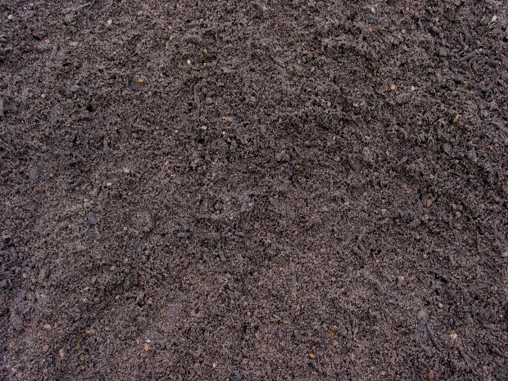 Soil building systems organic compost hardwood mulch for Garden topsoil